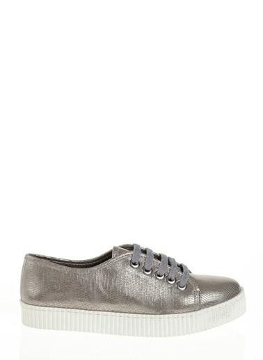 Derigo Bağcıklı Ayakkabı Gümüş